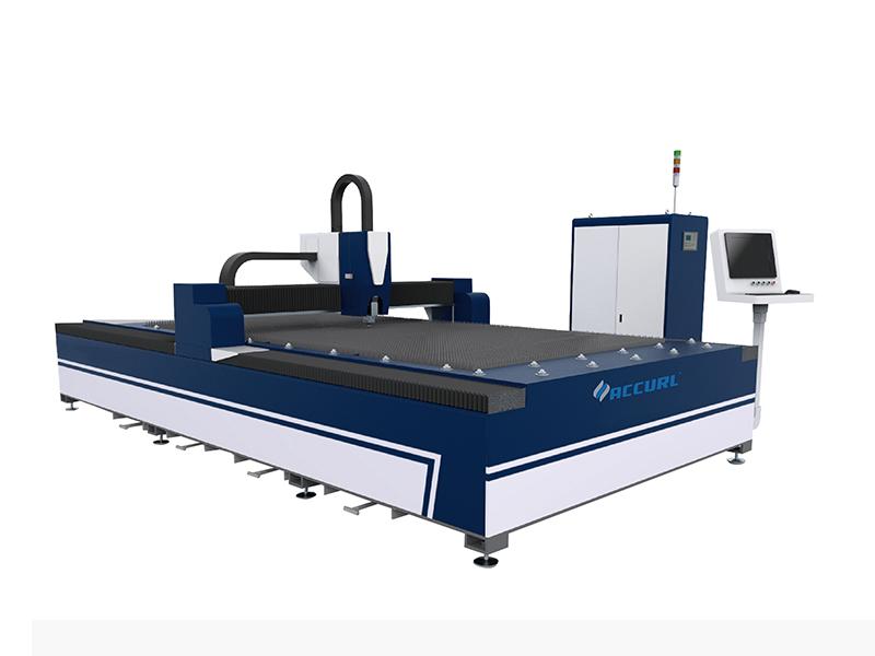 Kinas mest kända ekonomiska populära billigaste QIGO-fiberlaserskärmaskin Pris för skärning av metallplåtar