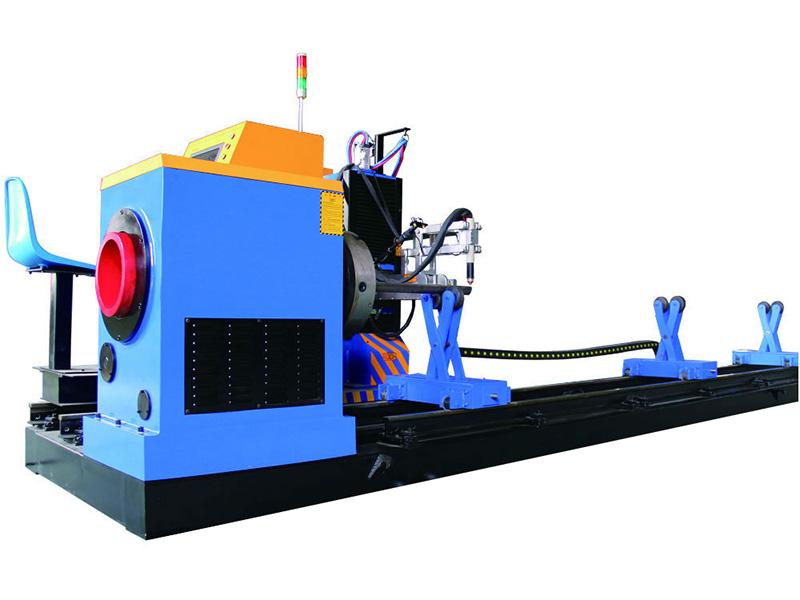 skärmaskin för metallrör