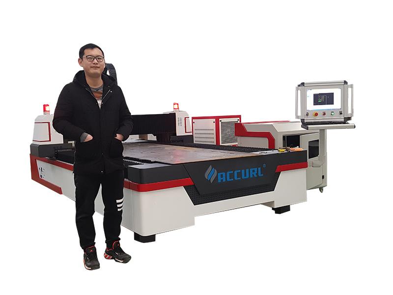 laserskärmaskin av metallrör